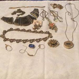 🌹Cool Mystery Bundle Estate Lot Broken Jewelry 🌹